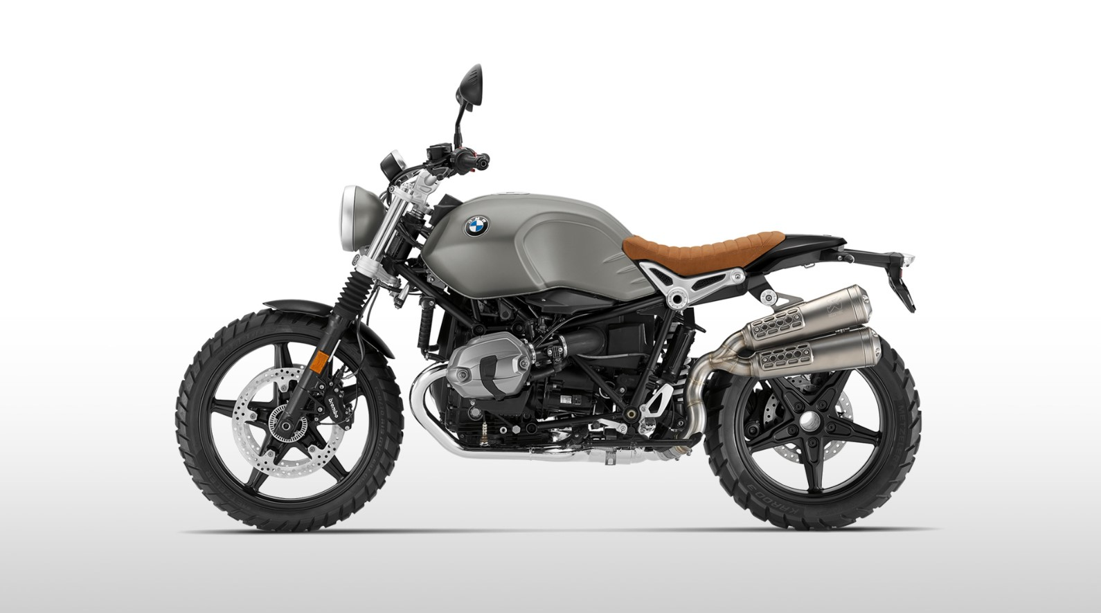 Bmw S R Ninet Scrambler Appears In Thrilling Scene In Mission