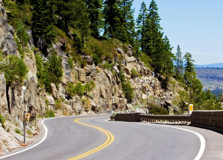 Scenic Road in California