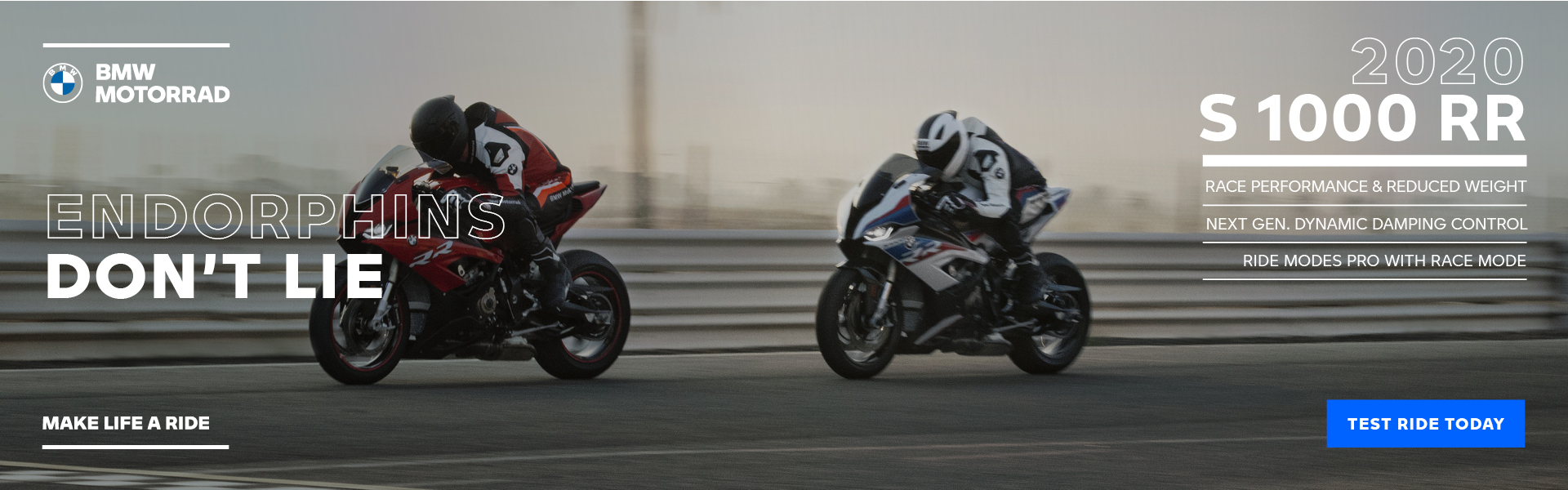 2020 S 1000 RR - TEST RIDE TODAY